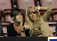 Carlisle fans can't believe the scoreline<br /> Bristol City vs Carlisle<br /> Carling Cup Round 2, Ashton Gate, Bristol, UK<br /> 26/08/2009. Credit Colorsport/Dan Rowley<br /> Football