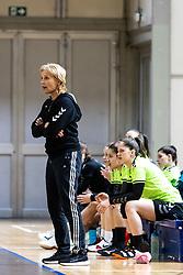 Marjeta Marton - Veber, head coach of RK Olimpija during handball match between RK Olimpija and ZRK Krka Novo Mesto in Round #10 of National Youth League in Season 2020-21, on May 2, 2021 in Hala Tivoli, Ljubljana, Slovenia. Photo by Matic Klansek Velej / Sportida