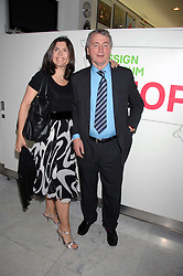 STEPHEN QUINN and KIMBERLEY FORTIER at a reception hosted by Vogue magazine to launch photographer Tim Walker's book 'Pictures' sponsored by Nude, held at The Design Museum, Shad Thames, London SE1 on 8th May 2008.<br /><br />NON EXCLUSIVE - WORLD RIGHTS