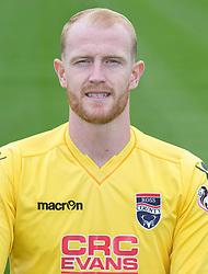Ross County 'keeper Aaron McCarey.