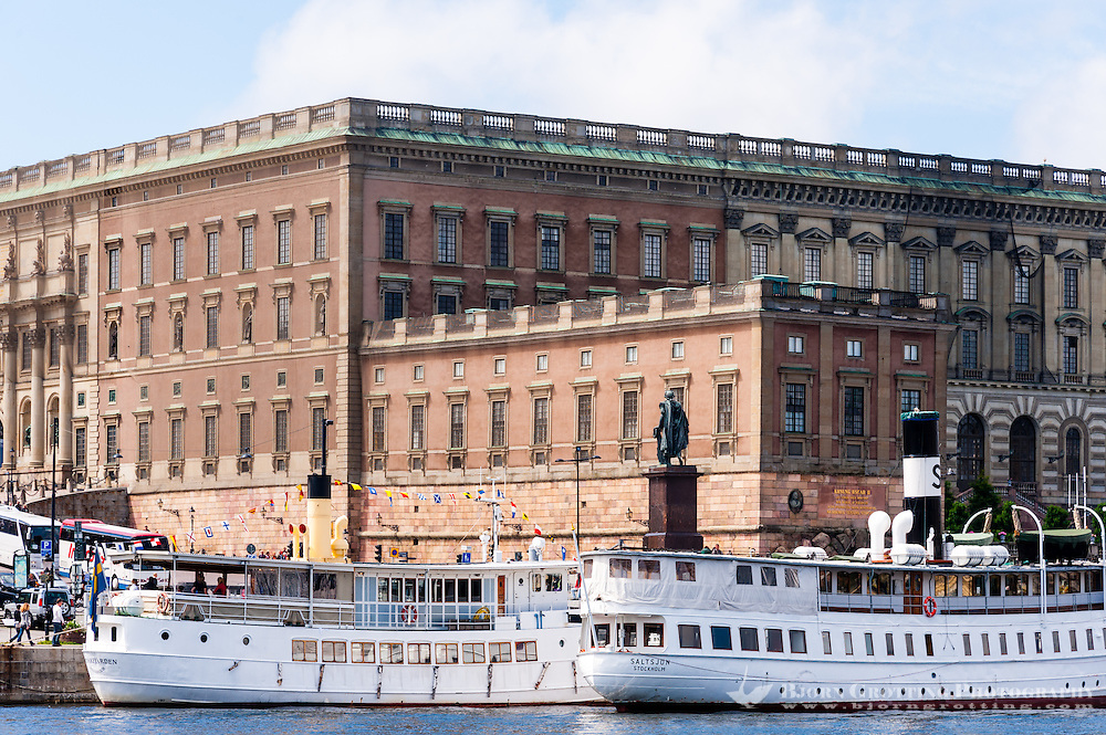 Sweden, Stockholm. The Royal Cstle.