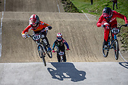 #911 (SHRIEVER Bethany) GBR during practice of Round 3 at the 2018 UCI BMX Superscross World Cup in Papendal, The Netherlands