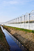 Tuinbouw, kassen in het Nederland  -  Horticulture, greenhouses in het The Netherlands