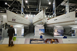 © Licensed to London News Pictures. 06/12/2010 London, UK. .The London Boat Show at the Excel Centre, London. The UK's premier marine leisure event runs from 6th to 15th January 2012..Photo credit : Simon Jacobs/LNP