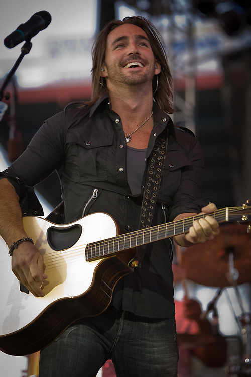 JAKE OWEN performs at the Cheyenne Frontier Days, the world's largest rodeo and western celebration.