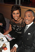 November 3, 2012- New York, NY: (L-R) Desiree Rogers, CEO, Johnson Publishing Company and Civil Rights Activist/On-Air Personality Rev. Dr. Al Sharpton at the EBONY Power 100 Gala Presented by Nationwide held at Jazz at Lincoln Center on November 3, 2012 in New York City. The EBONY Power 100 Gala Presented by Nationwide salutes the country's most influential African Americans.(Terrence Jennings) .