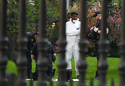 March 29, 2019 - London, London, United Kingdom - St Pauls Cathedral gunman. ..A police cordon can still be seen and an investigation is carried out...A man suspected to have been carrying a gun has been arrested outside St Paul's Cathedral. There is no indication this incident is a terror related at this time, City of London Police say. (Credit Image: © Gustavo Valiente/i-Images via ZUMA Press)
