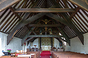 Church of Saint Edward, Kempley, Gloucestershire, England, UK, architect Randall Wells built 1903-4