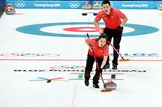 Curling Mixed Doubles - 10 February 2018