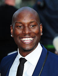 """File photo dated 07/05/2013 of Tyrese Gibson who has hit out at Dwayne """"The Rock"""" Johnson for """"breaking up the Fast family""""."""