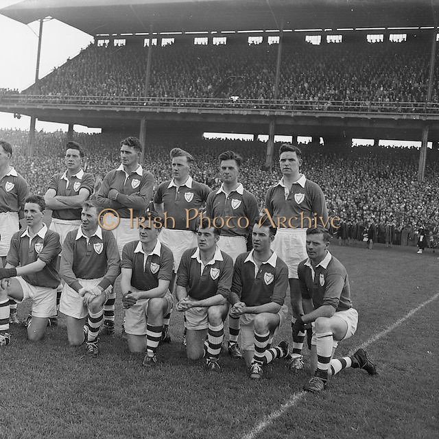 All Ireland Senior Gaelic Football Final, Louth Vs Cork at Croke Park, 21st September 1957...Louth win Sam Maguire cup.
