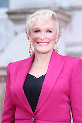 Glenn Close arriving at the UK premiere of The Wife at Somerset House in London.