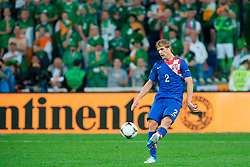 10.06.2012, Staedtisches Stadion, Posen, POL, UEFA EURO 2012, Irland vs Kroatien, Gruppe C, im Bild WIDOK IVAN STRINIC // during the UEFA Euro 2012 Group C Match between Ireland and Croatia at the Municipal Stadium Poznan, Poland on 2012/06/10. EXPA Pictures © 2012, PhotoCredit: EXPA/ Newspix/ Jakub Kaczmarczyk..***** ATTENTION - for AUT, SLO, CRO, SRB, SUI and SWE only *****