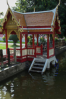 A khlong also commonly spelled Klong is the Thai word for a canal. These canals are fed by the Chao Phraya, the Tha Chin, the Mae Klong Rivers and tributaries. Once upon a time Bangkok was crisscrossed by khlong and so gained the name Venice of the East.  The khlongs were used for transportation and floating markets.  Most of the khlongs of Bangkok have been filled in and converted into streets and highways, which has resulted in Bangkok's famous flooding after the monsoons as water cannot flow properly into the Gulf of Thailand.