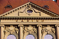 Facade of Kultur Casino (concert hall), Bern, Canton Bern, Switzerland