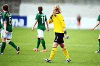 Fotball , 24. juli 2014 , U19 Women , Netherlands - Ireland<br /> Nederland - Irland 4-0<br /> Brooke Dunne , IRL