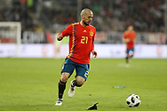 David Silva (Spain) during the International Friendly Game football match between Germany and Spain on march 23, 2018 at Esprit-Arena in Dusseldorf, Germany - Photo Laurent Lairys / ProSportsImages / DPPI