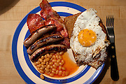 English Breakfast prepared by Francis Achache in London, UK.