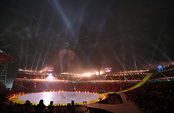 A general view of the opening ceremony of the PyeongChang 2018 Winter Paralympics at the PyeongChang Olympic Stadium in South Korea.
