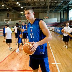 20110808: SLO, Basketball - Practice session of KK Union Olimpija before new season 2011/2012