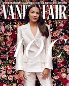 October 28, 2020 (Worldwide): Rep. Alexandria Osacio-Cortez Covers VANITY FAIR's December Issue