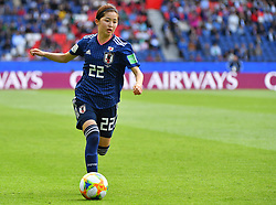 Shimuzi during the FIFA Women's World Cup group D first round soccer match between Argentina and Japan at Parc des Princes Stadium in Paris, France on June 10, 2019. The FIFA Women's World Cup France 2019 will take place in France from 7 June until 7 July 2019. Photo by Christian Liewig/ABACAPRESS.COM