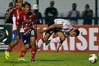 20120307: SAO PAULO, BRAZIL - Player  Miranda  and Alex during Corinthians (Brasil) vs Nacional (Paraguai) for Copa Libertadores held at Pacaembu stadium in SP<br /> PHOTO: CITYFILES