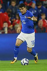 RICCARDO ORSOLINI<br /> CALCIO AMICHEVOLE ITALIA - MAROCCO U21