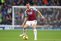 Burnley's Jack Cork during the Premier League match at Turf Moor, Burnley.