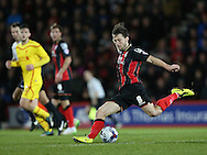 AFC Bournemouth midfielder Harry Arter during the Capital One Cup match between Bournemouth and Liverpool at the Goldsands Stadium, Bournemouth, England on 17 December 2014.