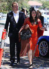 Mark Bosnich and his wife at Catalina's restaurant - 9 Nov 2017