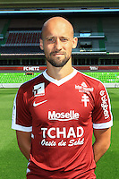Renaud Cohade poses for a portrait during the Metz squad photo call for the 2016-2017 Ligue 1 season on September 15, 2016 in Metz, France<br /> Photo : Fred Marvaux / Icon Sport