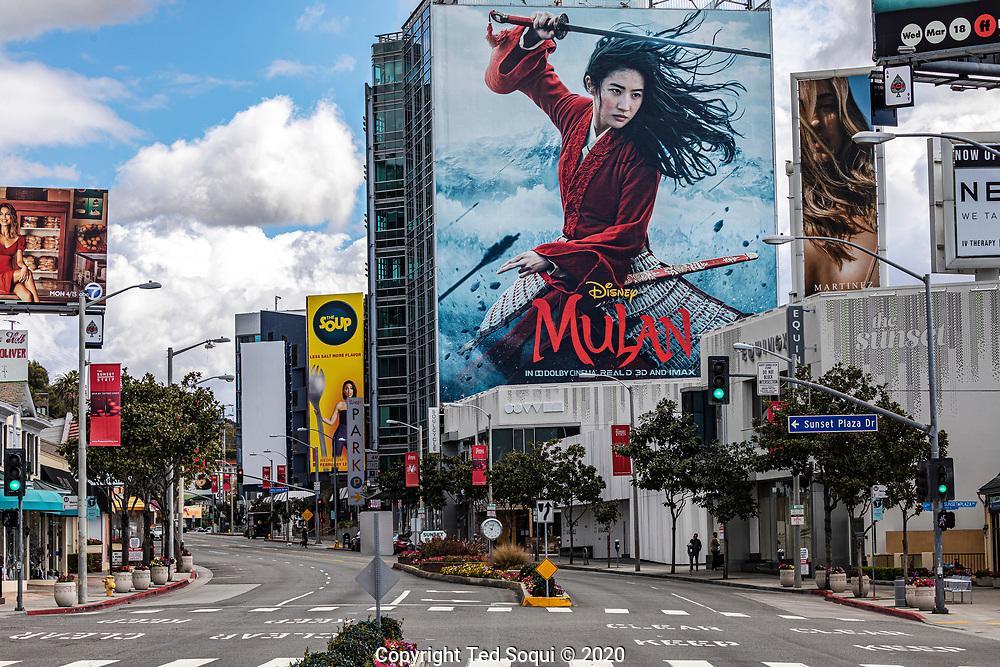 3/23/2020 Los Angeles, CA USA<br /> (Photo by Ted Soqui/SIPA USA)