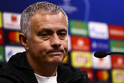 December 11, 2018 - Valencia, Spain - Head coach of Manchester United Jose Mourinho on Press conference before Champions League match between Valencia CF v Manchester United at Mestalla stadium, on December 11, 2018. (Photo by Jose Miguel Fernandez/NurPhoto) (Credit Image: © Jose Miguel Fernandez/NurPhoto via ZUMA Press)