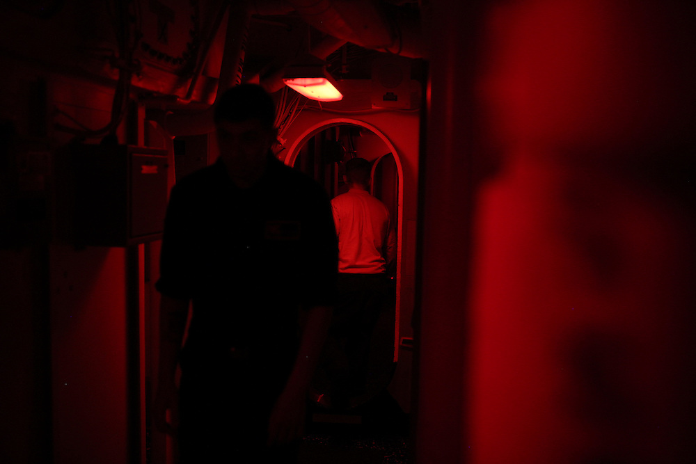 Aboard the USS Harry S. Truman operating in the Persian Gulf. February 25, 2016.<br /> <br /> Matt Lutton / Boreal Collective for Mashable