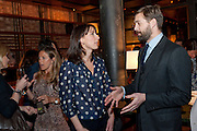 SAMANTHA CAMERON; PATRICK GRANT, BFC/Vogue Designer Fashion Fund winner Christopher Kane announcement. Almada, 33 Dover Street, London,2 February 2011 -DO NOT ARCHIVE-© Copyright Photograph by Dafydd Jones. 248 Clapham Rd. London SW9 0PZ. Tel 0207 820 0771. www.dafjones.com.