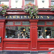Farrington's Pub, Temple Bar, Dublin, Ireland. Photo Tim Clayton