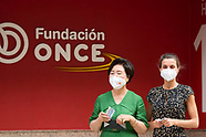 061621 Queen Letizia and Kim Jung-sook Visit to the ONCE Foundation