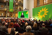 DEU, Deutschland, Germany, Berlin, 23.11.2018: Annalena Baerbock, Co-chair of Bündnis 90 / Die Grünen (Germany). Council of the European Green Party (EGP council) at Deutsche Telekom Representative Office.