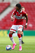 Middlesbrough defender Djed Spence (29) during the EFL Sky Bet Championship match between Middlesbrough and Bournemouth at the Riverside Stadium, Middlesbrough, England on 19 September 2020.