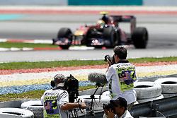 FORMEL 1: GP von Malaysia, Sepang, 02.04.2010<br /> photographer, Fotografen, Illustration, Medien<br /> © pixathlon