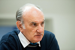 Ljubo Jasnic during meeting of Executive Committee of Ski Association of Slovenia (SZS), on March 15, 2017 in SZS, Ljubljana, Slovenia. Photo by Vid Ponikvar / Sportida