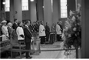 Mass For The 26th Dail.     (T3)..1989..29.06.1989..06.29.1989..29th June 1989..After the General Election  a mass took place today at the Pro-Cathedral in Dublin. The mass was to bless   the incoming TD's who were successful in their election to the Dáil...A view of the inside of the Pro-Cathedral, The Lord Mayor of Dublin, Ben Briscoe, An Taoiseach, Charles Haughey TD and the President, Patrick Hillery are pictured in the front pews.