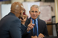 10th IAS Conference on HIV Science (IAS 2019), Mexico City, Mexico.<br /> <br /> Photo shows Tony Fauci, Director of the National Institute of Allergy and Infectious Diseases at the National Institutes of Health, United States, being interviewed at the IAS Studio.<br /> <br /> Photo ©International AIDS Society/Steve Forrest/Workers' Photos