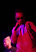 New York, NY-January 26: (L-R) Recording Artist Robert Glasper and Recording Artist Lupe Fiasco perform during the Robert Glasper Grammy Joint 2018 featuring the new project called August Greene featuring Common, Robert Glasper and Karriem Riggins held at the Highline Ballroom on January 26, 2018 in New York City.  (Photo by Terrence Jennings/terrencejennings.com)