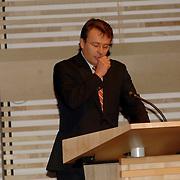NLD/Amsterdam/20061213 - Uitreiking Grote Prins Claus Prijs 2006, speech Prins Friso
