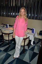 MARTHA WARD at a dinner to celebrate the start of The Season held at Rivea, Bulgari Hotel, 171 Kightsbridge, London on 18th May 2016.