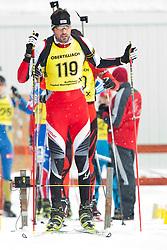 11.12.2010, Biathlonzentrum, Obertilliach, AUT, Biathlon Austriacup, Sprint Men, im Bild Daniel Salvenmoser (AUT, #119) am Start. EXPA Pictures © 2010, PhotoCredit: EXPA/ J. Groder