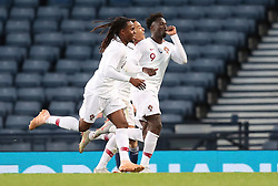 Portugal's Eder celebrates scoring his side's second goal of the game during the International Friendly match at Hampden Park, Glasgow.