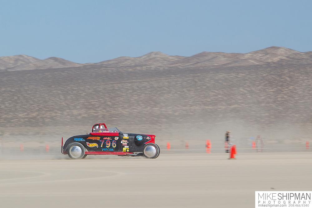 R2 Racin, 796, eng V4F, body GR, driver, Richard Reed, 95.182 mph, record 117.008